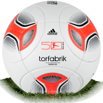 Adidas Torfabrik 2012/13 is official match ball of Bundesliga 2012/2013