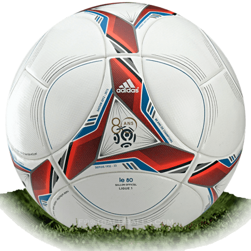 Adidas Le 80 is official match ball of Ligue 1 2012/2013