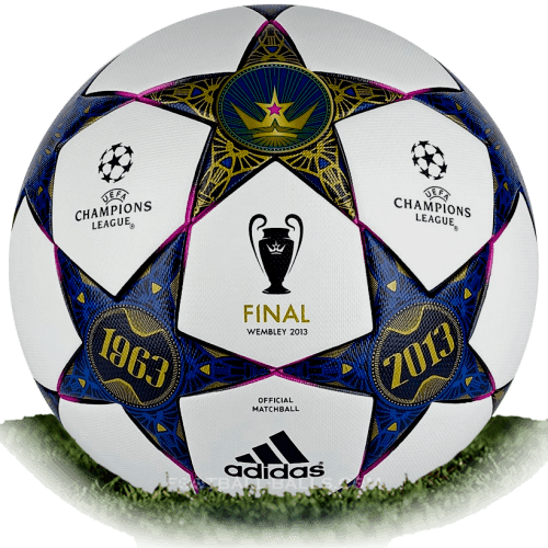 Adidas Finale Wembley is official final match ball of Champions League 2012/2013
