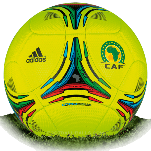 Comoequa is official match ball of Africa Cup in 2012
