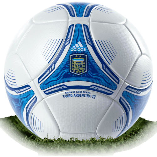 Tango 12 AFA is official match ball of Argentina Primera Division 2012