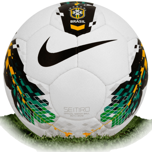 Nike Seitiro CBF is official match ball of Campeonato Brasileiro 2012