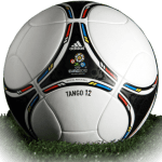 Tango 12 is official match ball of Euro Cup 2012