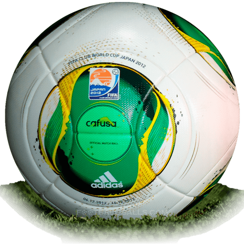 Adidas Cafusa is official match ball of Club World Cup 2012