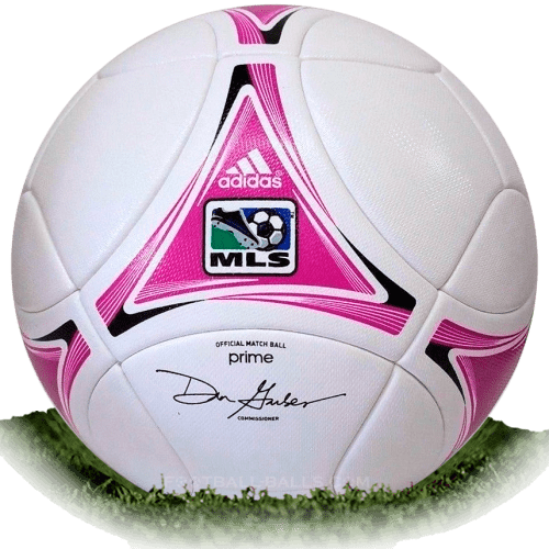 Adidas Prime BCA is official match ball of MLS 2012