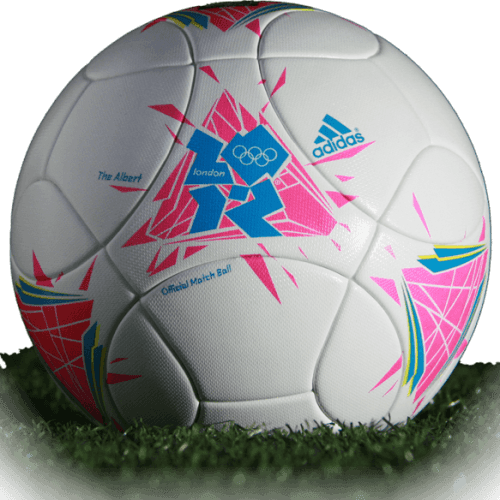 The Albert is official match ball of Olympic Games 2012