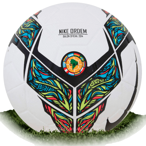 Nike Ordem CSF is official match ball of Copa Libertadores 2014