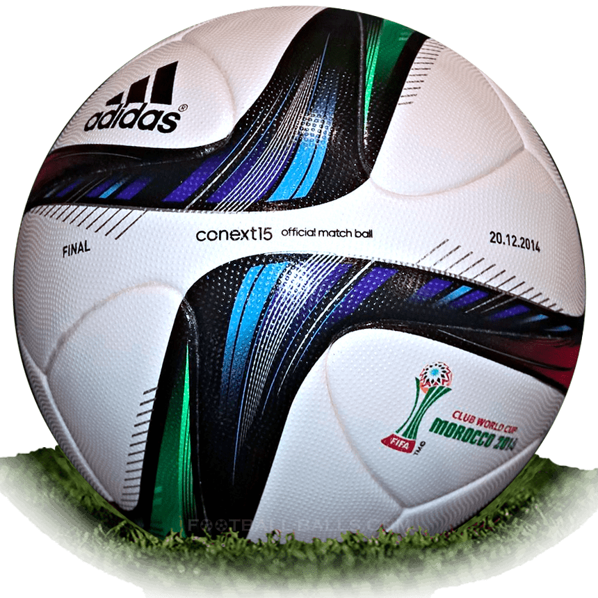 Adidas Conext15 is official match ball of Club World Cup 2014 ... 3d367aa2c