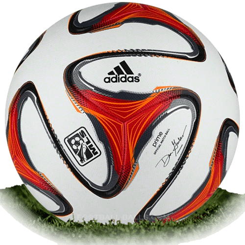 separation shoes 4e083 f404c Adidas Prime 3 is official match ball of MLS 2014   Football Balls Database