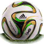 Brazuca Final Rio is official final match ball of World Cup 2014