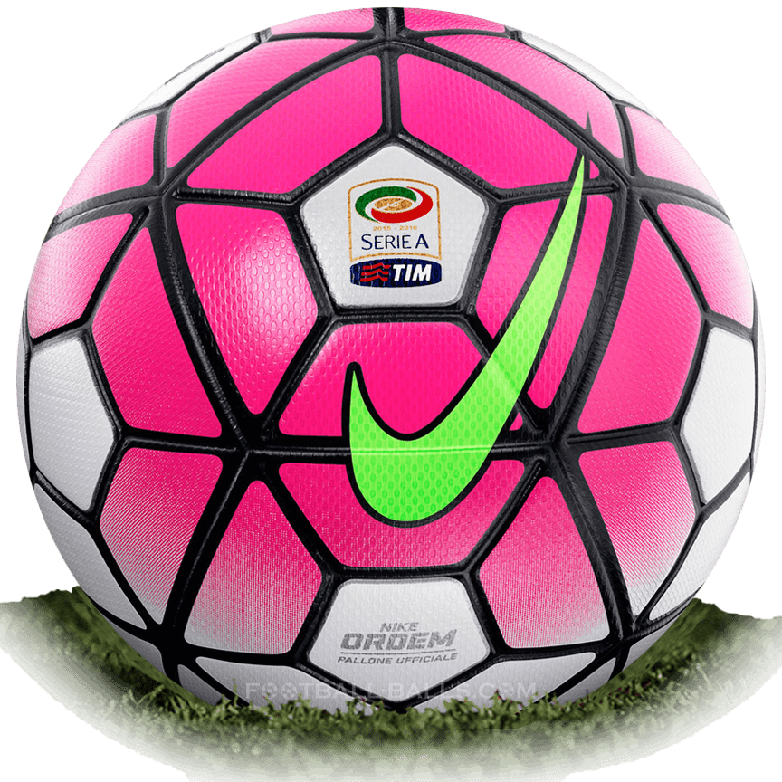 39cbeb07f7f56 Nike Ordem 3 is official match ball of Serie A 2015 2016
