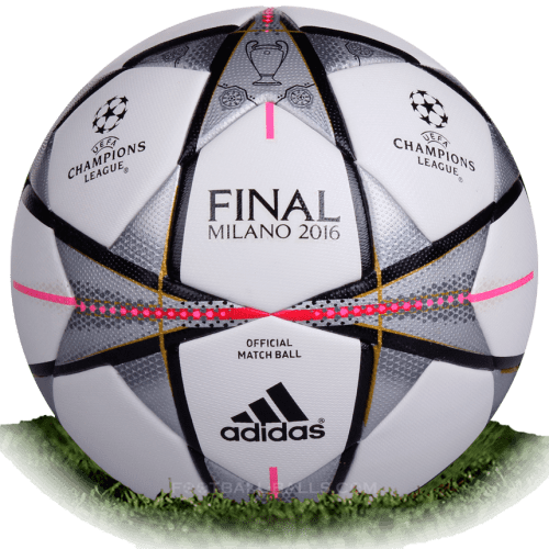Adidas Finale Milano is official final match ball of Champions League 2015/2016