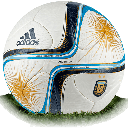 Adidas Argentum 2015 is official match ball of Argentina Primera Division 2015