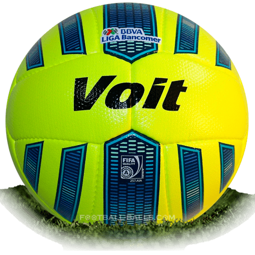 Voit Aspid Neon is official match ball of Liga MX Clausura 2015