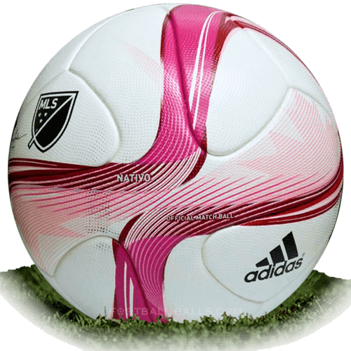 Adidas Nativo BCA is official match ball of MLS 2015
