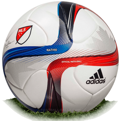 Adidas Nativo is official match ball of MLS 2015