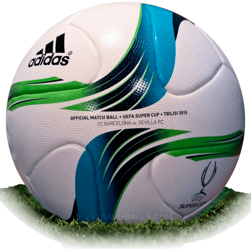 Adidas Super Cup 2015 is official match ball of UEFA Super Cup 2015