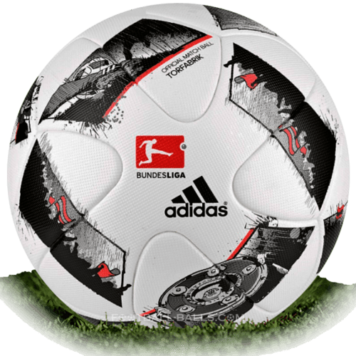 Adidas Torfabrik 2016/17 is official match ball of Bundesliga 2016/2017