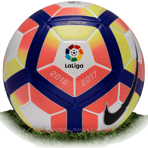 Nike Ordem 4 is official match ball of La Liga 2016/2017