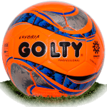 Golty Euforia is official match ball of Liga Aguila 2016-2017