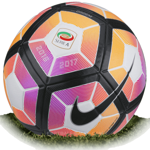 Nike Ordem 4 Is Official Match Ball Of Serie A 2016 2017 Football Balls Database