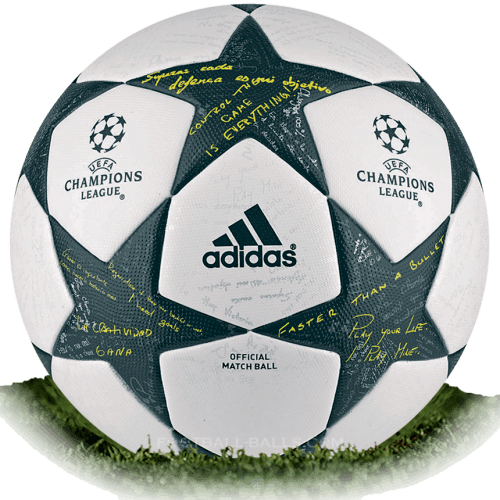 Adidas Finale 16 is official match ball of Champions League 2016/2017