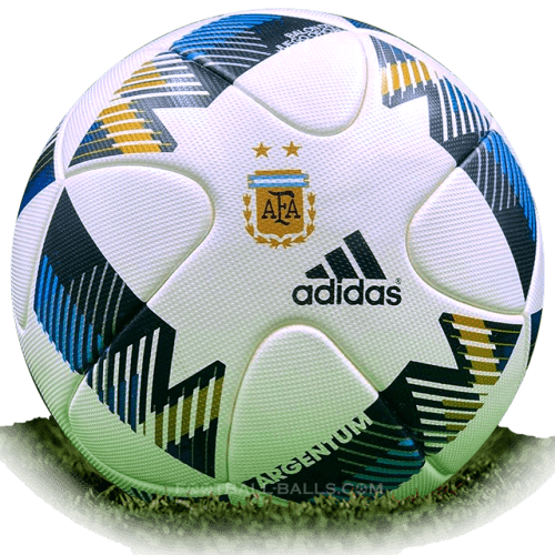 Adidas Argentum 2016 is official match ball of Argentina Primera Division 2016