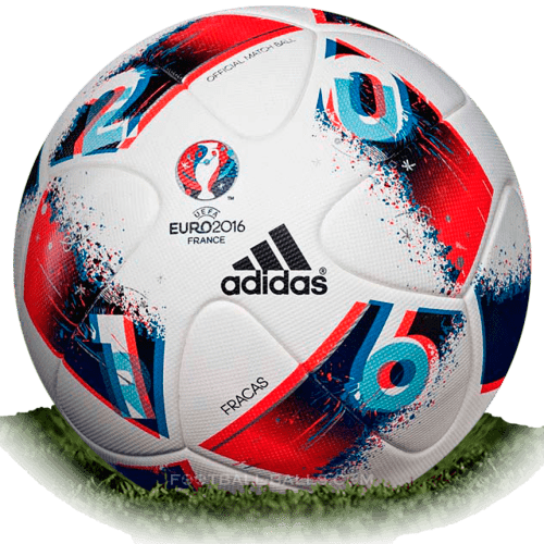 Adidas Fracas is official final match ball of Euro Cup 2016