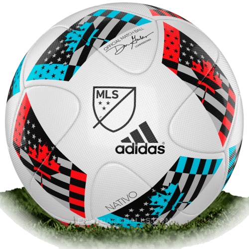 Adidas Nativo 2 is official match ball of MLS 2016
