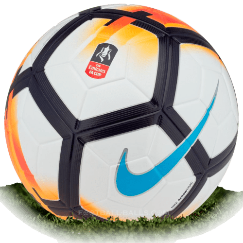 Nike Ordem 5 is official match ball of FA Cup 2017/2018