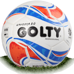 Golty Euforia 2.0 is official match ball of Liga Aguila 2017-2018