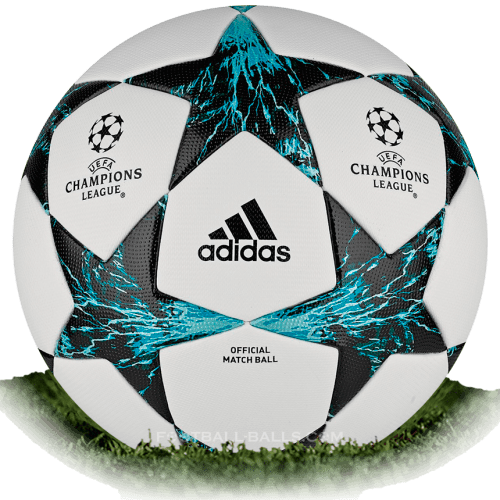 Adidas Finale 17 is official match ball of Champions League 2017/2018