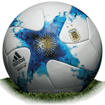 Adidas Argentum 2017 is official match ball of Argentina Primera Division 2017