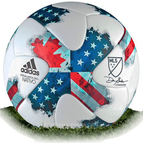 Adidas Nativo 3 Is Official Match Ball Of Mls 2017 Football Balls Database