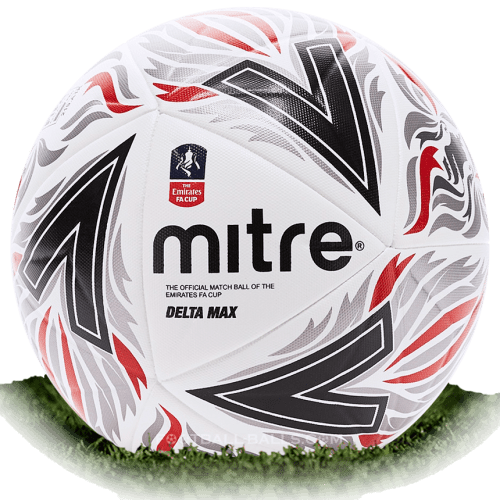 Mitre Delta Max is official match ball of FA Cup 2018/2019