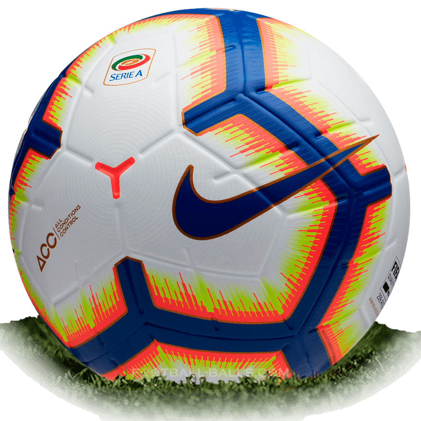 Una noche Espere Frente a ti  Nike Merlin is official match ball of Serie A 2018/2019 | Football Balls  Database