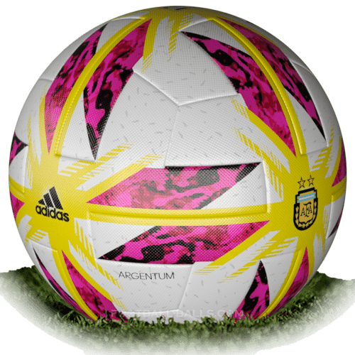 Adidas Argentum 2018 is official match ball of Superliga Argentina 2018/2019