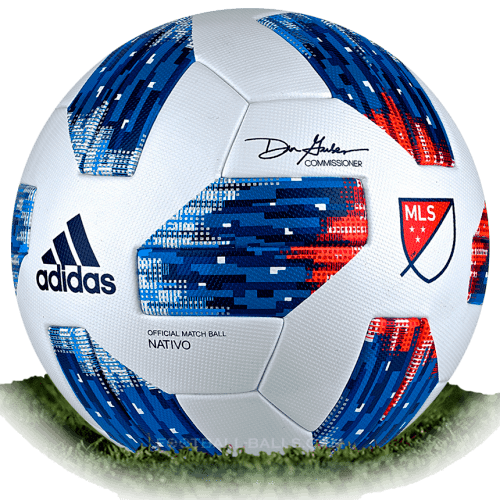 premium selection 38a5d dd356 Adidas Nativo 4 is official match ball of MLS 2018   Football Balls Database