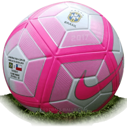 Nike Ordem 4 CBF BCA is official match ball of FIFA World Cup 2018 Qualification