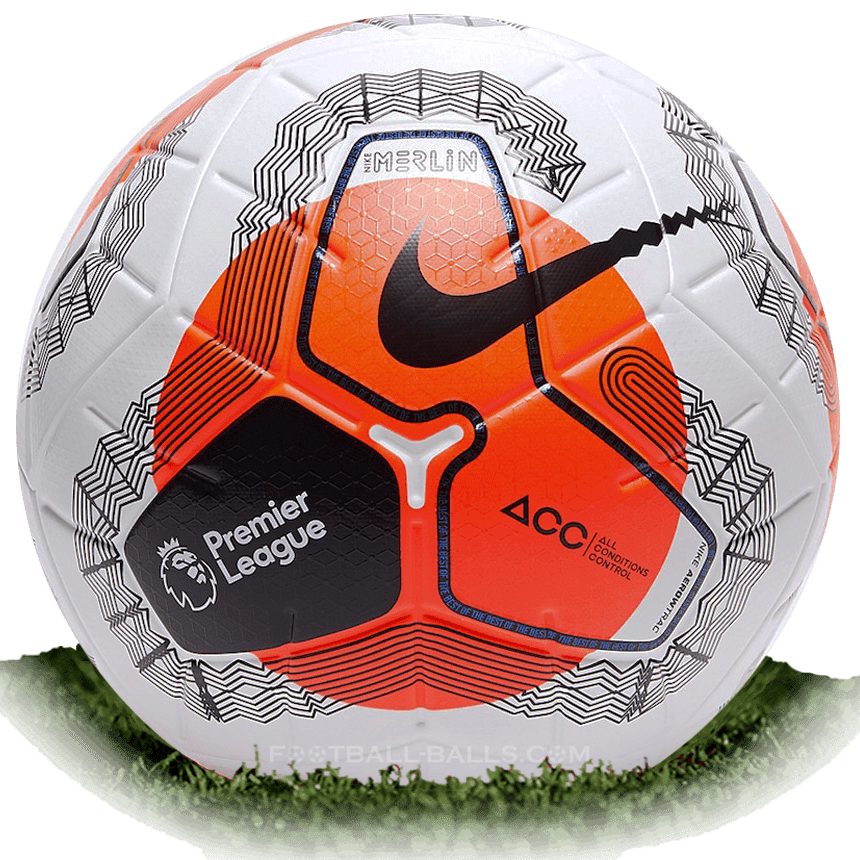 Nike Merlin 2020 Is Official Match Ball Of Premier League 2019 2020 Football Balls Database