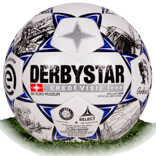 Derbystar Brillant APS 2019 is official match ball of Eredivisie 2019/2020