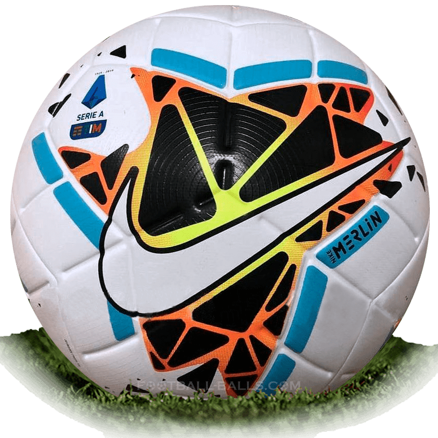 Nike Merlin 2 Is Official Match Ball Of Serie A 2019 2020 Football Balls Database