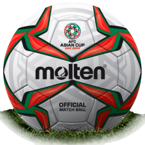 Molten Acentec is official match ball of Asian Cup 2019