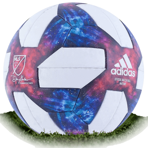 Adidas Nativo Questra is official match ball of MLS 2019