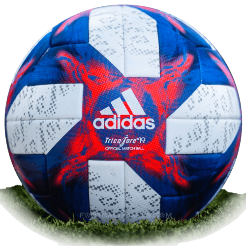 Tricolore 19 is official final match ball of Women's World Cup 2019