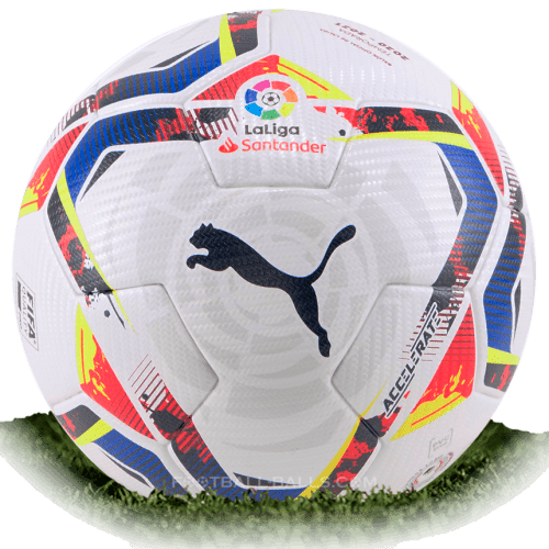 Puma Accelerate is official match ball of La Liga 2020/2021