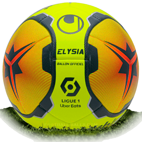 Uhlsport Elysia Uber Eats is official match ball of Ligue ...